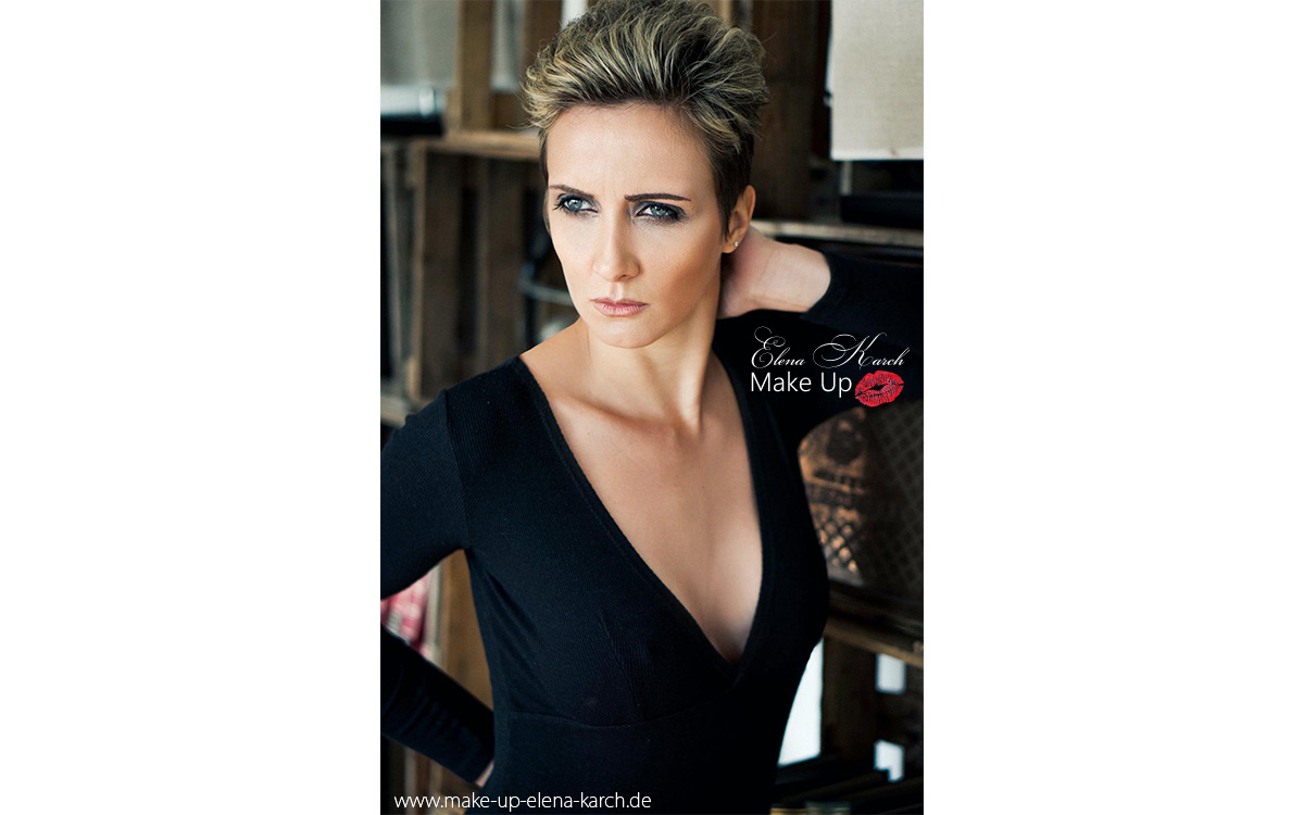 Tages und Abend Make Up & Hairstyling by Elena Karch