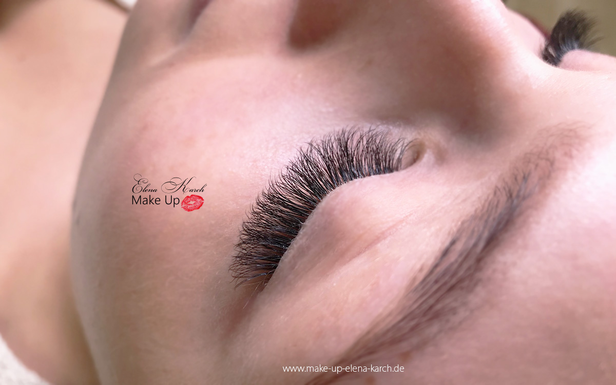 Wimpernverl�ngerung Wimpernextensions by Elena Karch